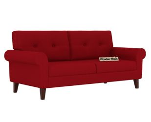 Orlando 3 Seater Sofa (Dusky Rose)