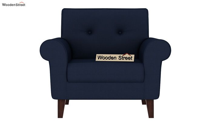 Orlando 1 Seater Sofa (Indigo Ink)-4