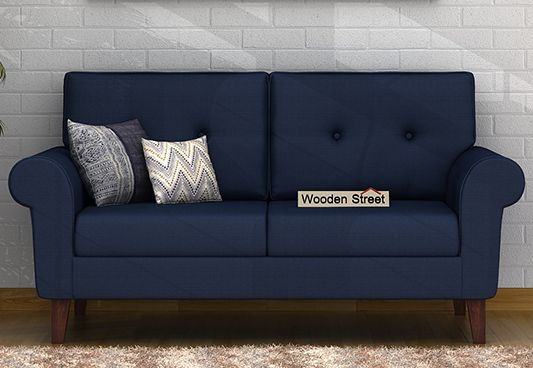 Orlando 2 Seater Sofa (Indigo Ink)