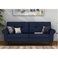 Orlando 3 Seater Sofa (Indigo Ink)