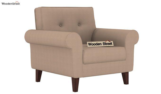Orlando 1 Seater Sofa (Irish Cream)-1