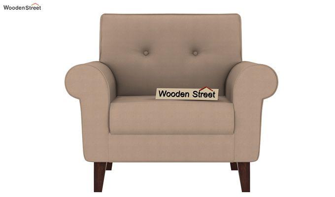 Orlando 1 Seater Sofa (Irish Cream)-2