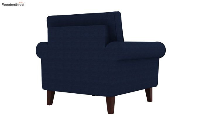 Orlando 1 Seater Sofa (Indigo Ink)-3