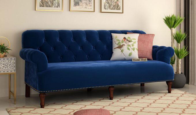Parker 3 Seater Sofa Velvet