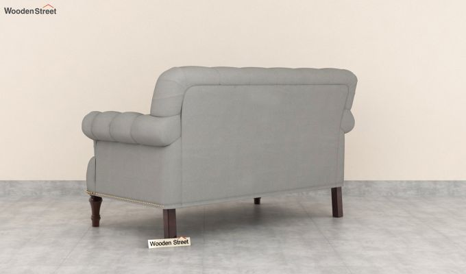 Parker 2 Seater Sofa (Fabric, Warm Grey)-4