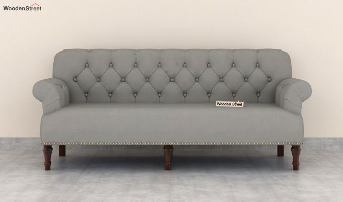 Parker 2 Seater Sofa (Fabric, Warm Grey)-8