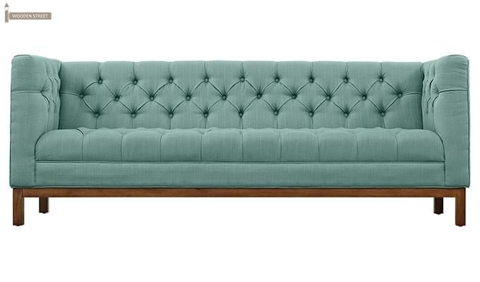 Parslo 3 Seater Fabric Sofa (Stormy Sea)-3