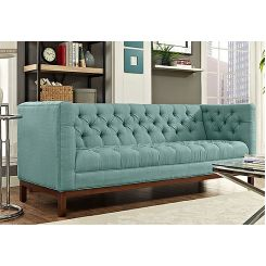 Parslo 3 Seater Fabric Sofa (Stormy Sea)