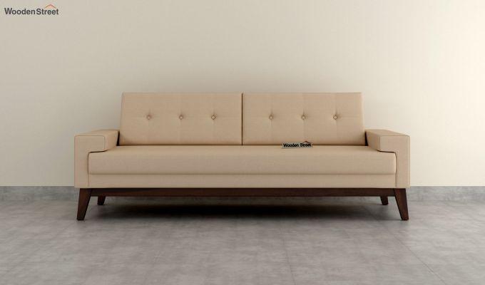 Richie 2 Seater Sofa (Fabric, Irish Cream)-8