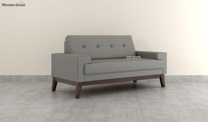 Richie 2 Seater Sofa (Fabric, Warm Grey)-2