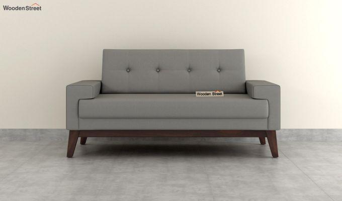 Richie 2 Seater Sofa (Fabric, Warm Grey)-3