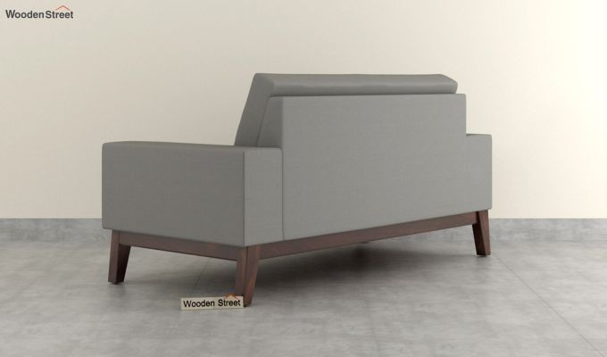 Richie 2 Seater Sofa (Fabric, Warm Grey)-4