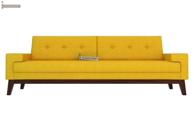 Richie 3 Seater Sofa (Yellow Blush)-1