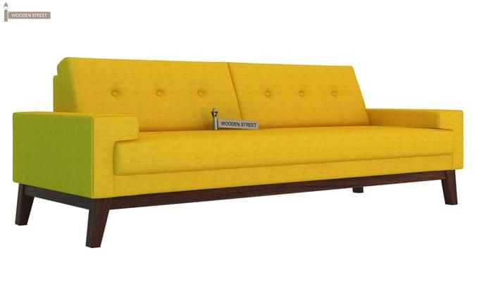 Richie 3 Seater Sofa (Yellow Blush)-2
