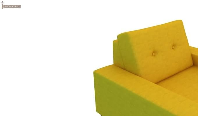 Richie 3 Seater Sofa (Yellow Blush)-3