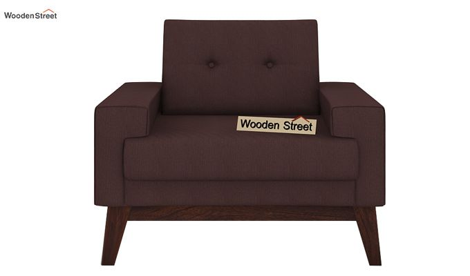 Richie 1 Seater Sofa (Classic Brown)-2