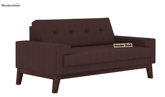 Richie 2 Seater Sofa (Classic Brown)-1