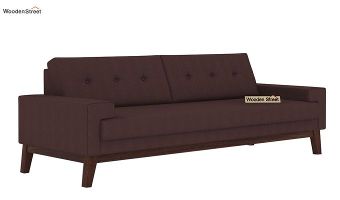 Richie 3 Seater Sofa (Classic Brown)-1