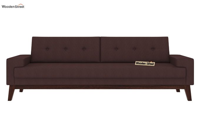 Richie 3 Seater Sofa (Classic Brown)-2