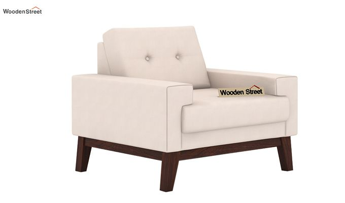 Richie 1 Seater Sofa (Ivory Nude)-1