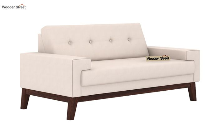 Richie 2 Seater Sofa (Ivory Nude)-1