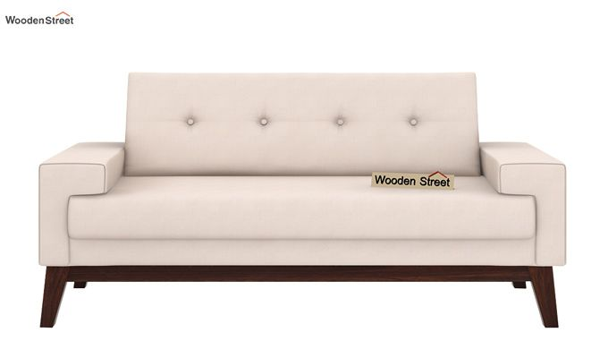 Richie 2 Seater Sofa (Ivory Nude)-2