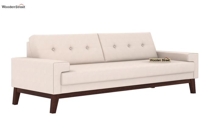 Richie 3 Seater Sofa (Ivory Nude)-1