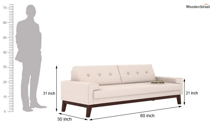 Richie 3 Seater Sofa (Ivory Nude)-3