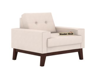 Richie 1 Seater Sofa (Ivory Nude)