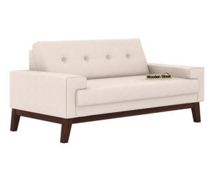 Richie 2 Seater Sofa (Ivory Nude)