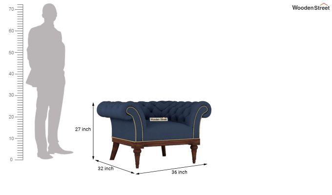 Swanson 2 Seater Sofa (Fabric, Indigo Ink)-11