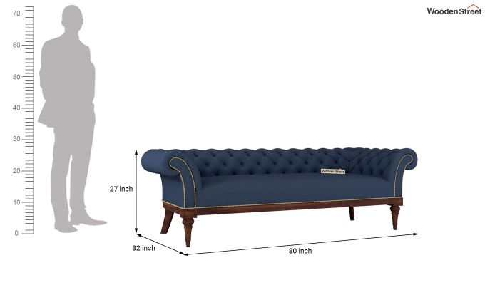 Swanson 2 Seater Sofa (Fabric, Indigo Ink)-13