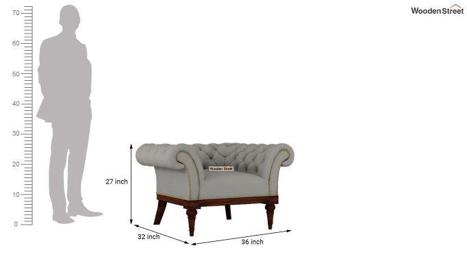 Swanson 2 Seater Sofa (Fabric, Warm Grey)-9