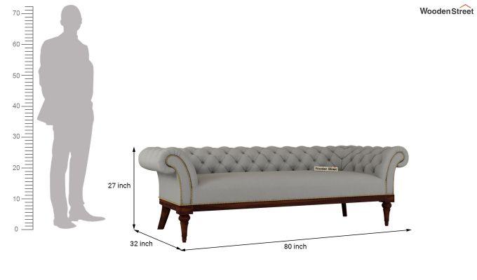 Swanson 2 Seater Sofa (Fabric, Warm Grey)-11