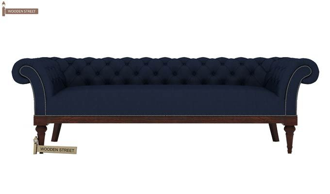 Swanson 3+1+1 Fabric Sofa Set  (Indigo Ink)-3