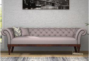 Swanson Chesterfield Sofa Fabric Warm Grey