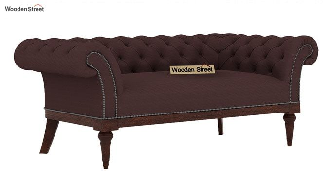 Swanson 2 Seater Sofa (Fabric, Classic Brown)-1
