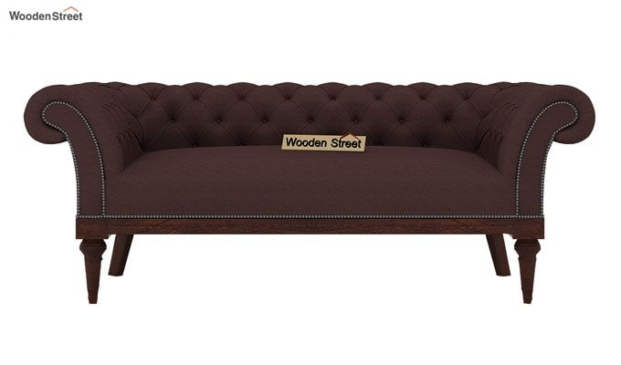 Swanson 2 Seater Sofa (Fabric, Classic Brown)-2
