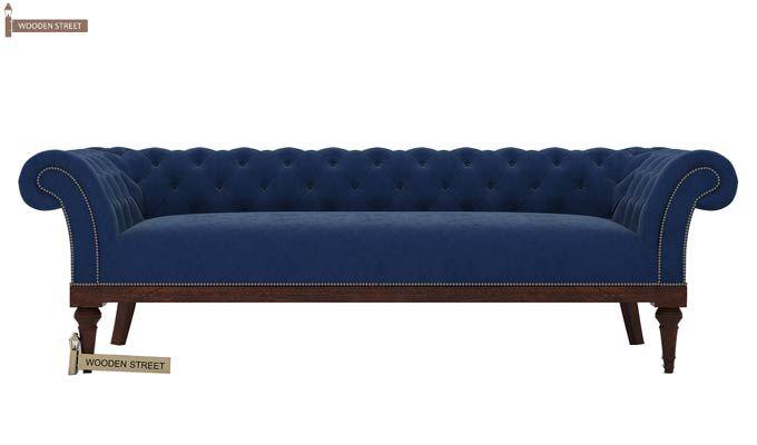 Swanson Chesterfield Sofa (Velvet, Night)-2