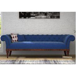 Swanson Chesterfield Sofa (Velvet, Night)
