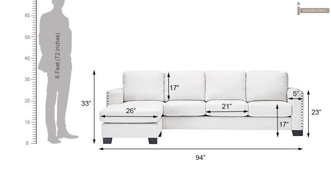 Winchell Sofa (White)-4