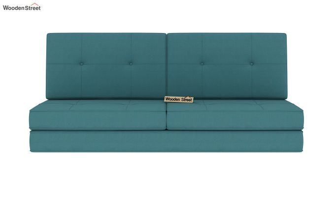 Coleman Futon Bed (Two Seater, Aqua Marine)-4