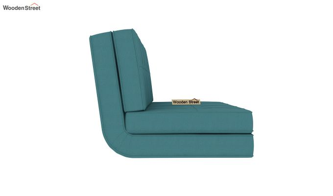 Coleman Futon Bed (Two Seater, Aqua Marine)-5