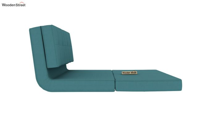 Coleman Futon Bed (Two Seater, Aqua Marine)-6