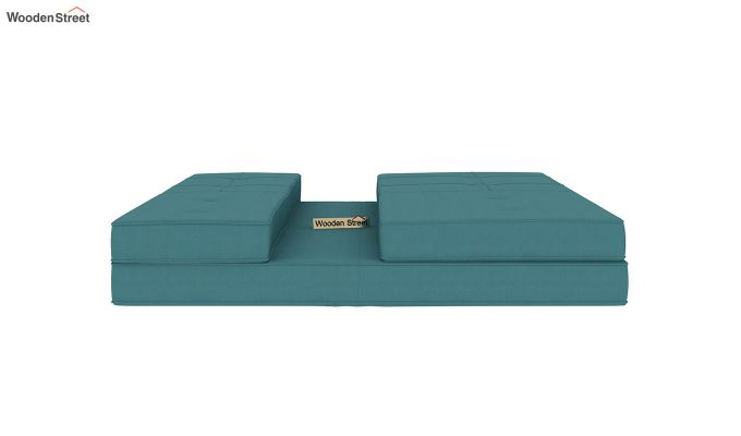 Coleman Futon Bed (Two Seater, Aqua Marine)-7