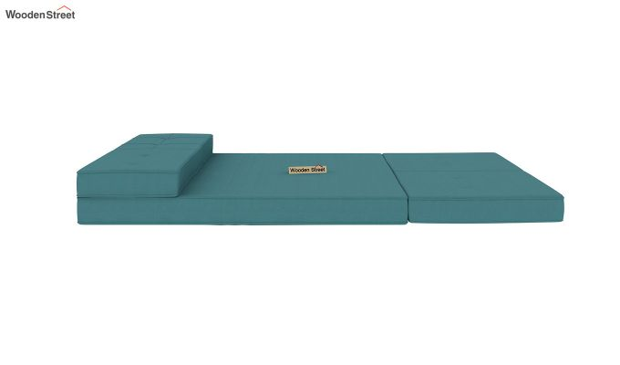 Coleman Futon Bed (Two Seater, Aqua Marine)-8