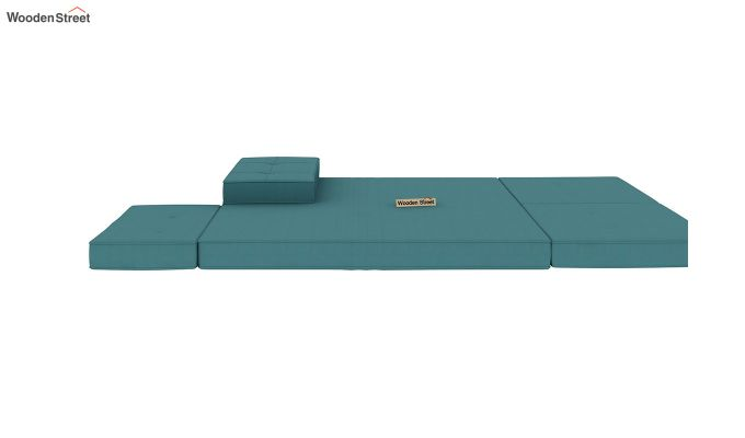Coleman Futon Bed (Two Seater, Aqua Marine)-9