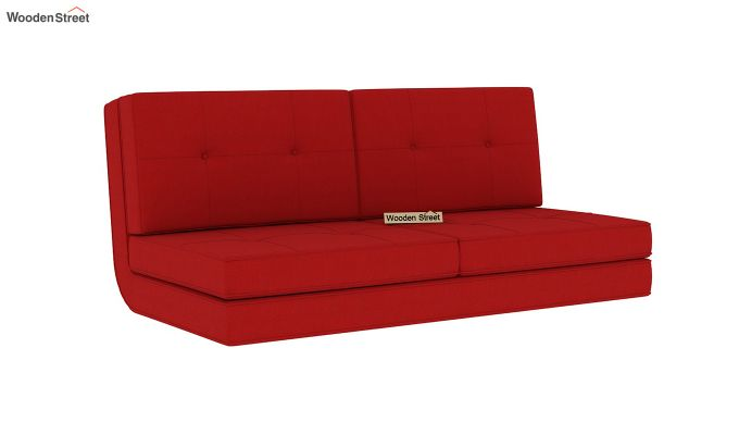 Coleman Futon Bed (Two Seater, Dusky Rose)-3