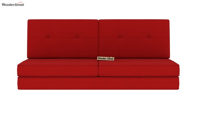 Coleman Futon Bed (Two Seater, Dusky Rose)-4