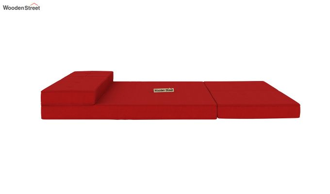 Coleman Futon Bed (Two Seater, Dusky Rose)-8